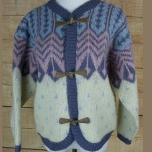 EUC awesome vintage wool hipster Icelandic sweater